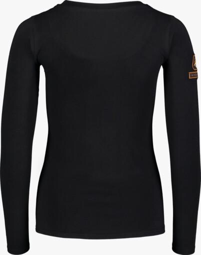 Černé dámské bavlněné triko PUNY