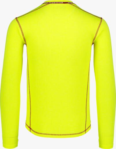 Žluté pánské celoroční termo triko NIGH