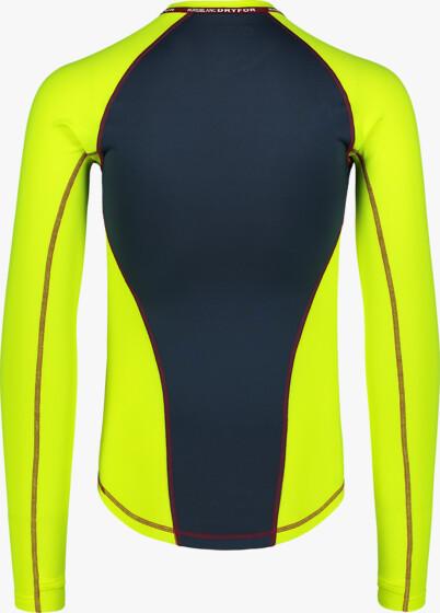 Žluté pánské zimní termo triko LUSTY - NBBMD7086