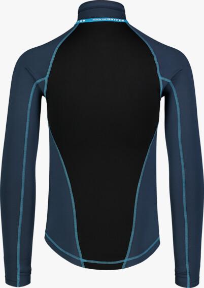 Modré pánské zimní termo triko FIERCE - NBBMD7087