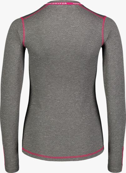 Šedé dámske celoročné termo tričko PURVEY