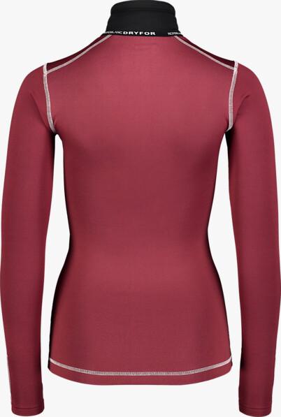 Fekete női téli termikus póló VEIL