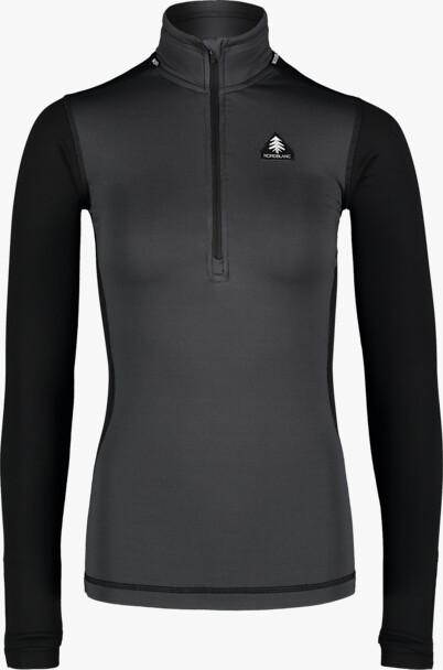 Šedé dámske zimné termo tričko VEIL