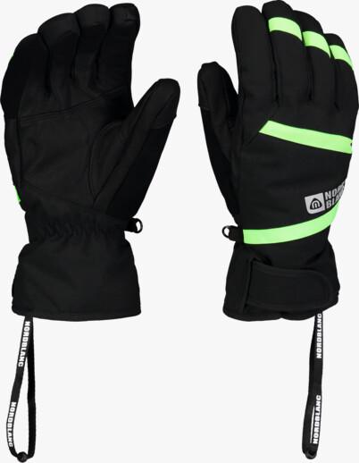 Black ski gloves TRULY
