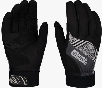 Black softshell gloves POINETR