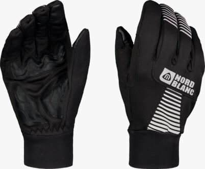 Black softshell gloves GRAB