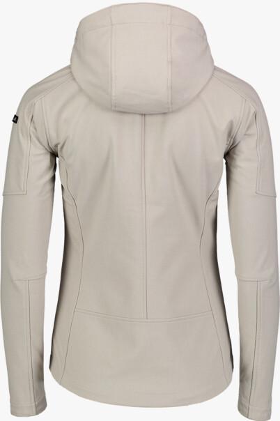 Bézs női softshell dzeki/kabát WAGER