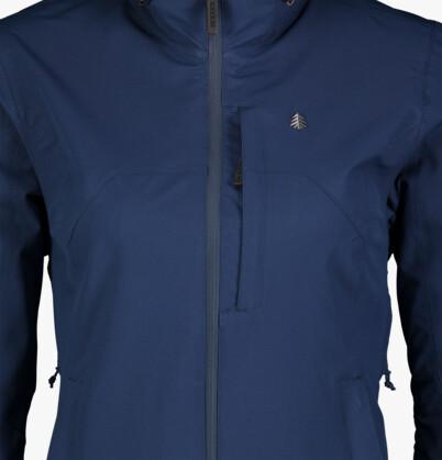 Modrá dámská outdoorová bunda COPE - NBSJL7119