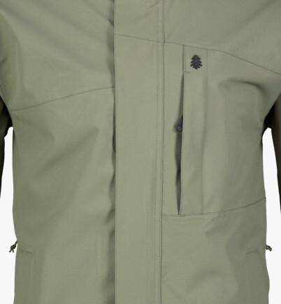 Zöld férfi outdoor dzeki/kabát DURABLE