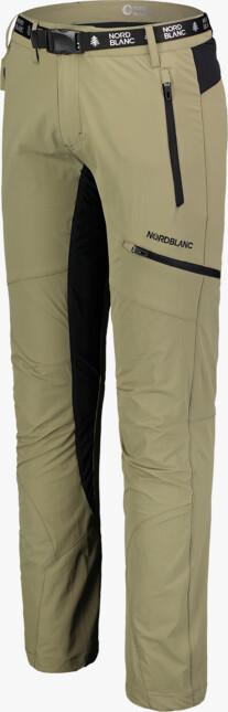 Pantaloni de timp liber bej pentru bărbați ABIDE - NBSPM7121