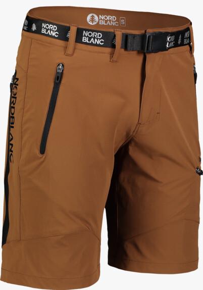 Pantaloni scurți maro outdoor pentru bărbați SALVAGE - NBSPM7122