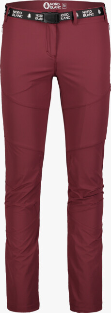 Women's wine red outdoor pants LIABLE - NBSPL7130