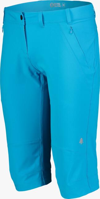 Modré dámské outdoorové kraťasy VENERATE - NBSPL7135