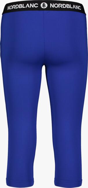 Modré dámské 3/4 fitness legíny TENUITY - NBSPL7185