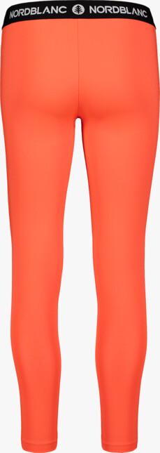 Oranžové dámské fitness legíny CONTRIVE - NBSPL7186
