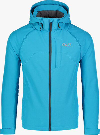 Men's blue light softshell jacket 2in1 WISE - NBSSM7174