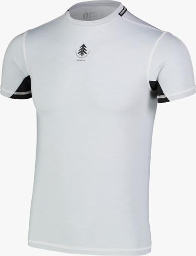 Šedé pánske ľahké termo tričko MINGY - NBBMU7089