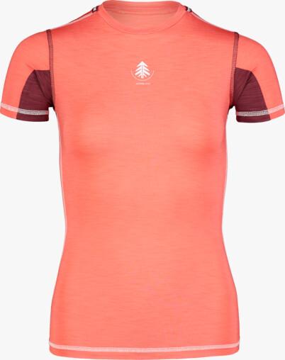 Červené dámské lehké termo tričko PLANT - NBBLU7100