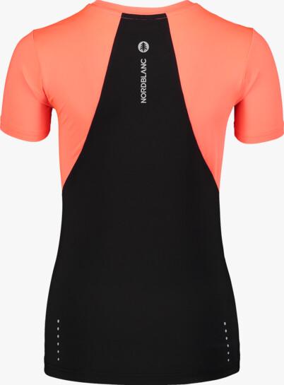 Oranžové dámské tričko na běhání VIGOROUS