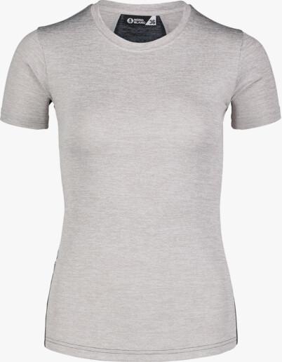 Šedé dámské tričko na běhání VIGOROUS
