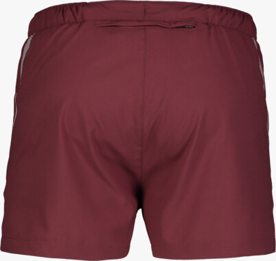 Men's wine red jogging shorts STALWART
