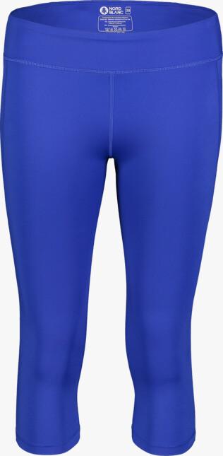 Modré dámské 3/4 sportovní legíny DROPS - NBSPL7206