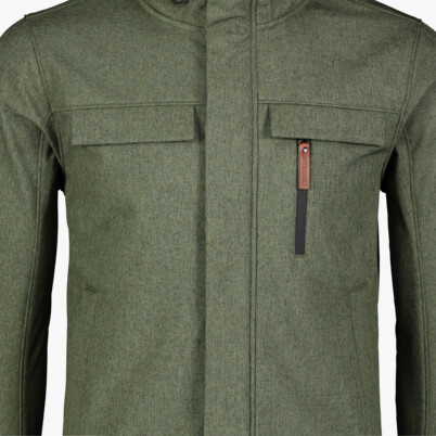 Zöld férfi softshell dzeki/kabát GRASP