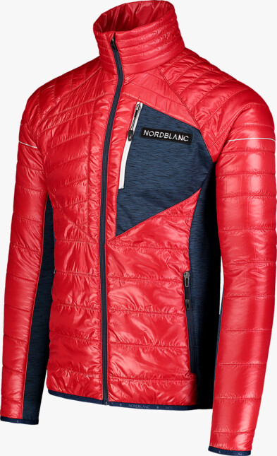 Červená pánská sportovní bunda SIGNAL - NBWJM7352