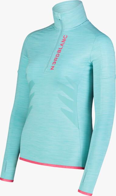 Kék női powerfleece pulóver BRILL - NBWFL7362