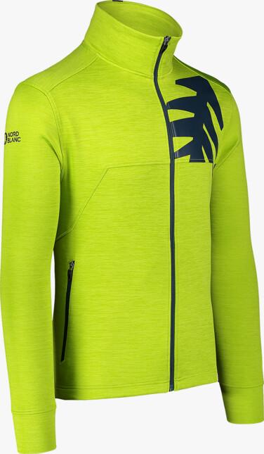 Men's green double face jacket PERSIST - NBSFM7144