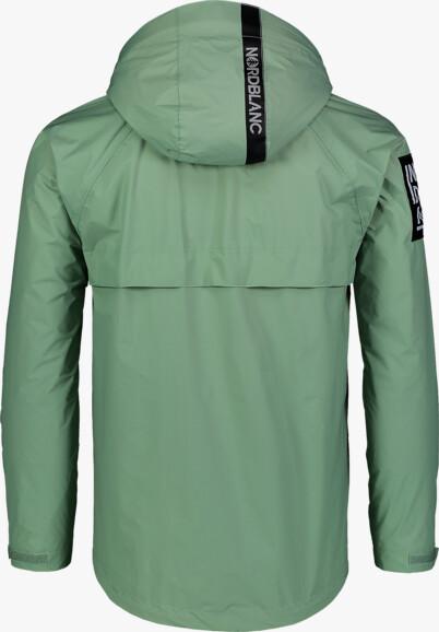 Men's green light spring- autumn jacket POUCH - NBSJM7372