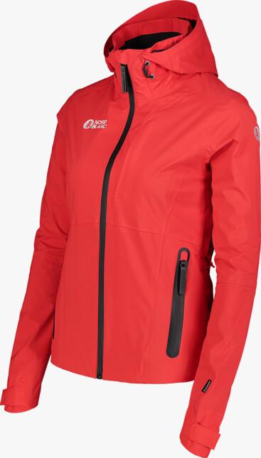 Červená dámska outdoorová bunda GEOGRAPHICAL - NBSJL7374
