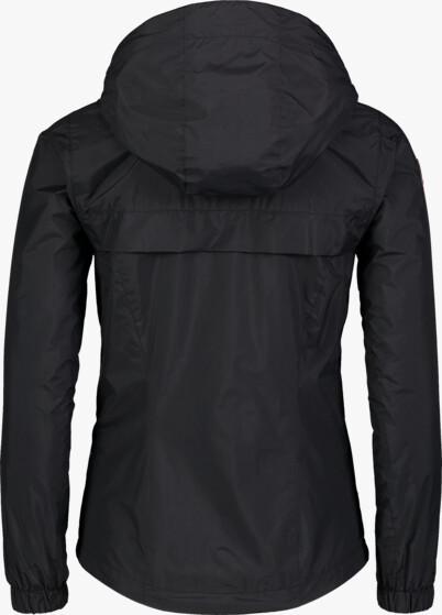 Fekete női könnyű tavaszi dzeki/kabát INLUX