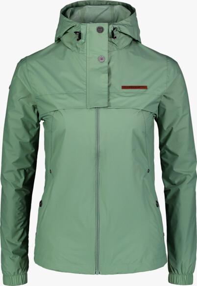 Zelená dámská lehká jarní bunda INLUX
