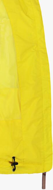 Sárga női könnyű tavaszi dzeki/kabát INLUX