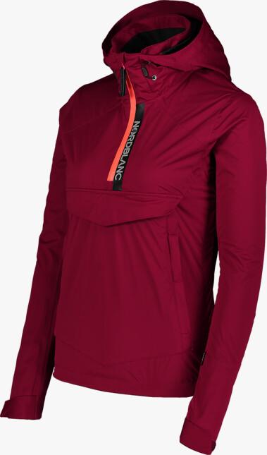 Vínová dámska outdoorová bunda HONEST - NBSJL7376