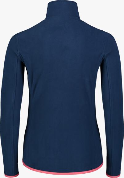 Modrá dámská lehká fleecová mikina MIST