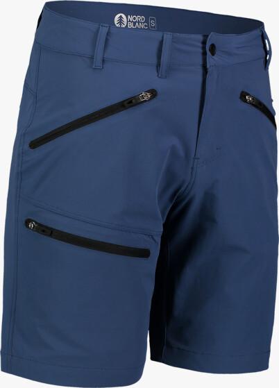 Modré pánske outdoorové kraťasy ALLDAY - NBSPM7411