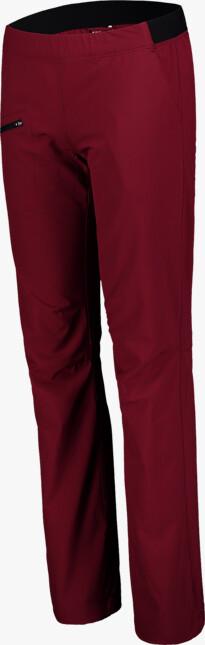 Women's red ultra lightweight outdoor pants HIKER
