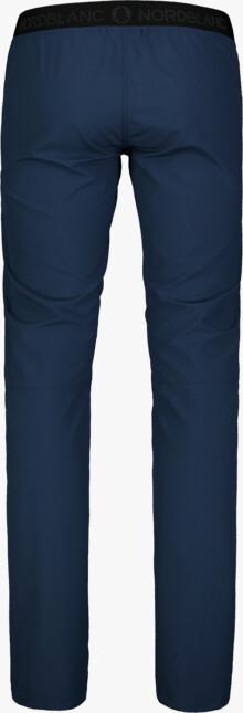 Modré dámske ultraľahké outdoorové nohavice HIKER - NBSPL7416