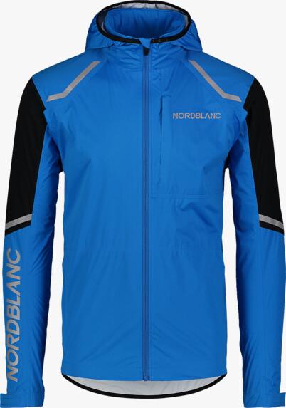 Kék férfi vízálló ultrakönnyű kerékpáros dzeki/kabát MECHANISM