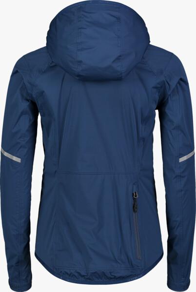 Kék női vízálló ultrakönnyű kerékpáros dzeki/kabát DESCEND