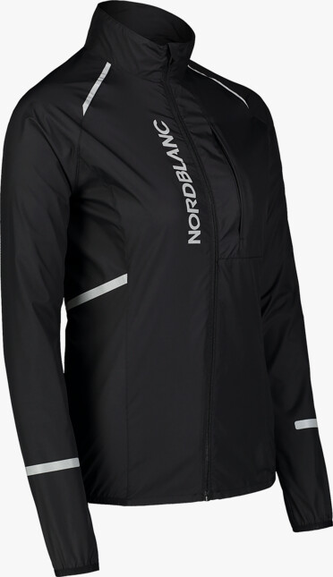 Fekete női ultrakönnyű kerékpáros dzeki/kabát BARRIER
