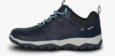 Kék női outdoor bőr cipő DONA
