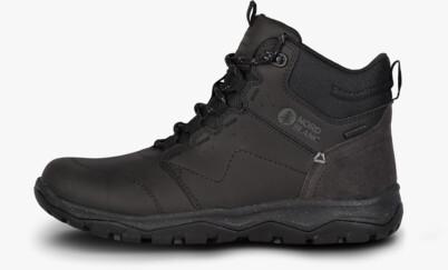 Fekete női outdoor bőr cipő PRIMADONA