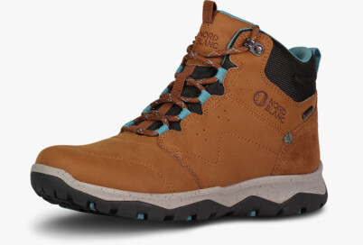 Women's brown outdoor leather shoes PRIMADONA