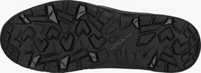 Čierne pánske kožené outdoorové topánky FUTURO