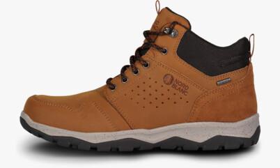 Hnedé pánske kožené outdoorové topánky FUTURO