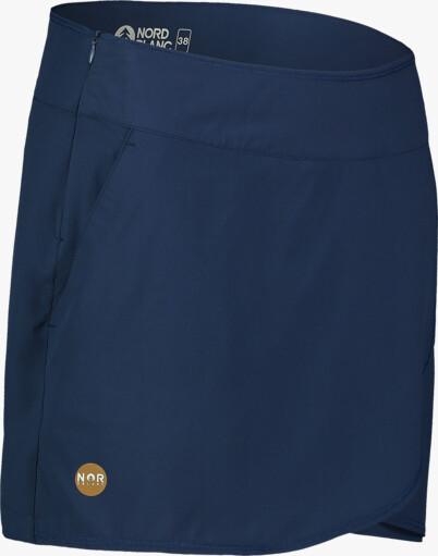 Modrá dámska športová šortko-sukňa SOPHISTICATED