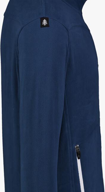 Kék férfi fleece melegítőfelső MOONRISE
